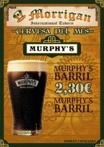 Cervesa del mes Murphy's de Barril Figueres Girona